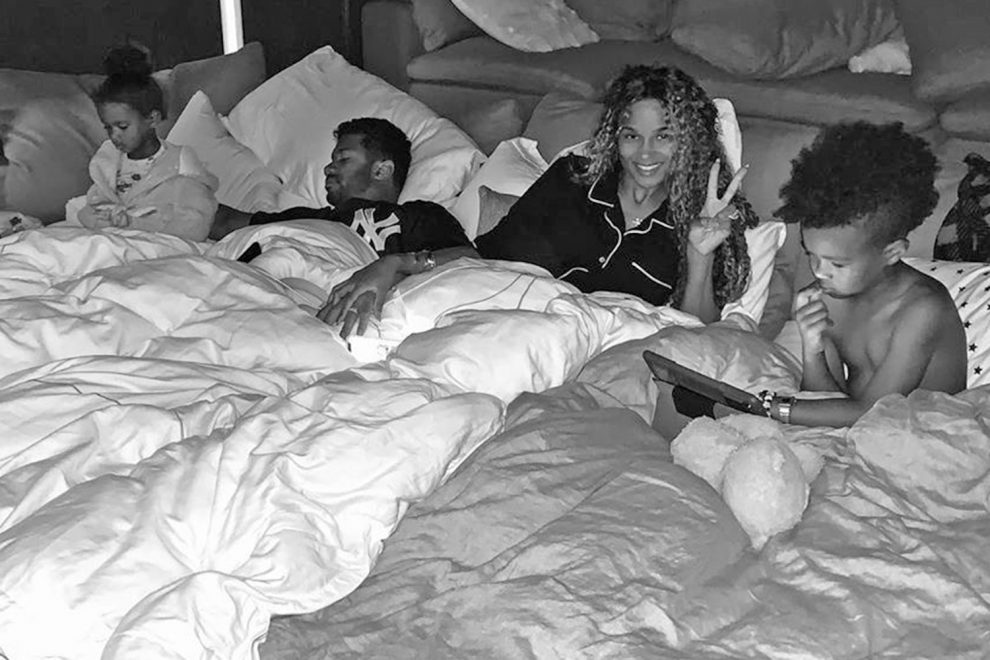 Pregnant Ciara and Husband Russell Wilson Have a 'Slumber Party' with Their Kids: 'Up All Night'