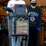 Demi Lovato and Boyfriend Max Ehrich Go Grocery Shopping with Masks and Gloves amid Coronavirus Outbreak