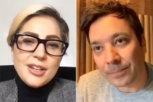 Lady Gaga Apologizes to Jimmy Fallon After Awkward Video Call-In: 'We Weren't Quite Ready Yet'