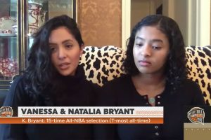 Vanessa Bryant 'Extremely Proud' of Late Husband Kobe Bryant's Basketball Hall of Fame Induction