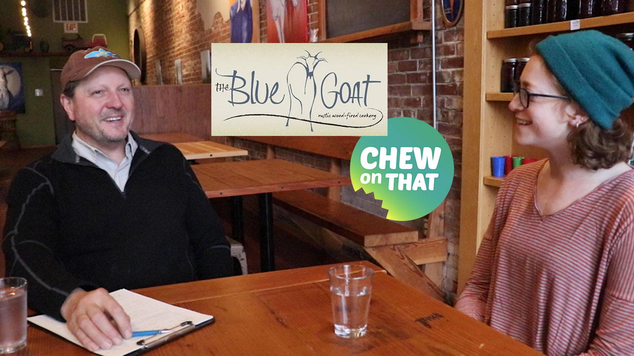 Sustainable Meat Production: The Blue Goat