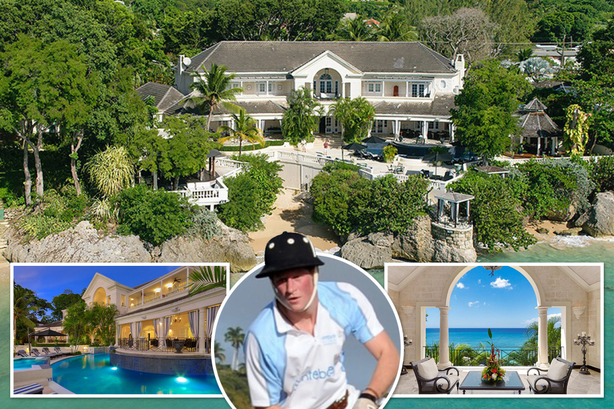 10-bed Barbados cliff-top villa the place Prince Harry stayed might be yours for lower than £20M after worth slashed by £11m