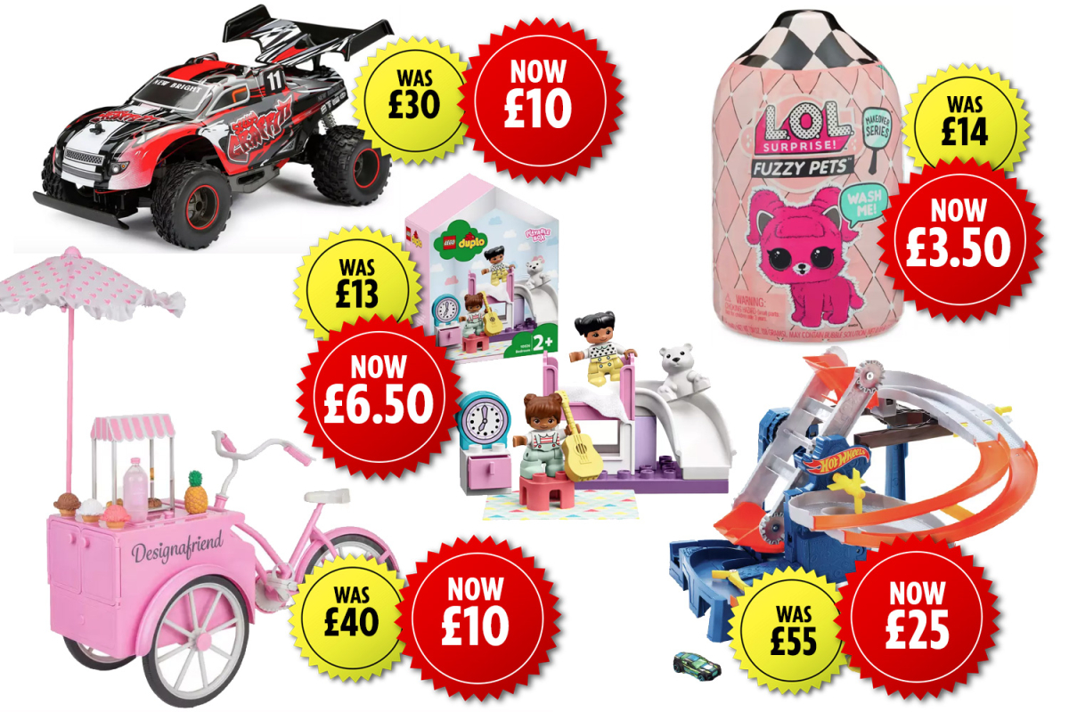 Argos slashes the costs of tons of of toys by as much as 75%