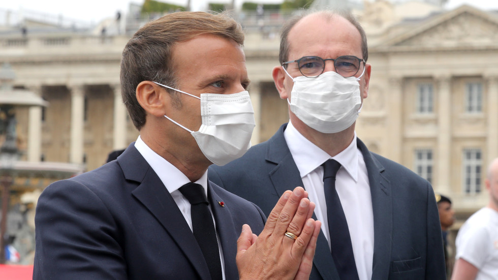 French President Macron makes masks compulsory in public beginning August 1