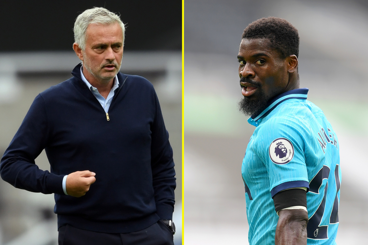 Jose Mourinho praises 'special' Serge Aurier for playing days after brother's death and recalls his feelings when his sister passed away before a match