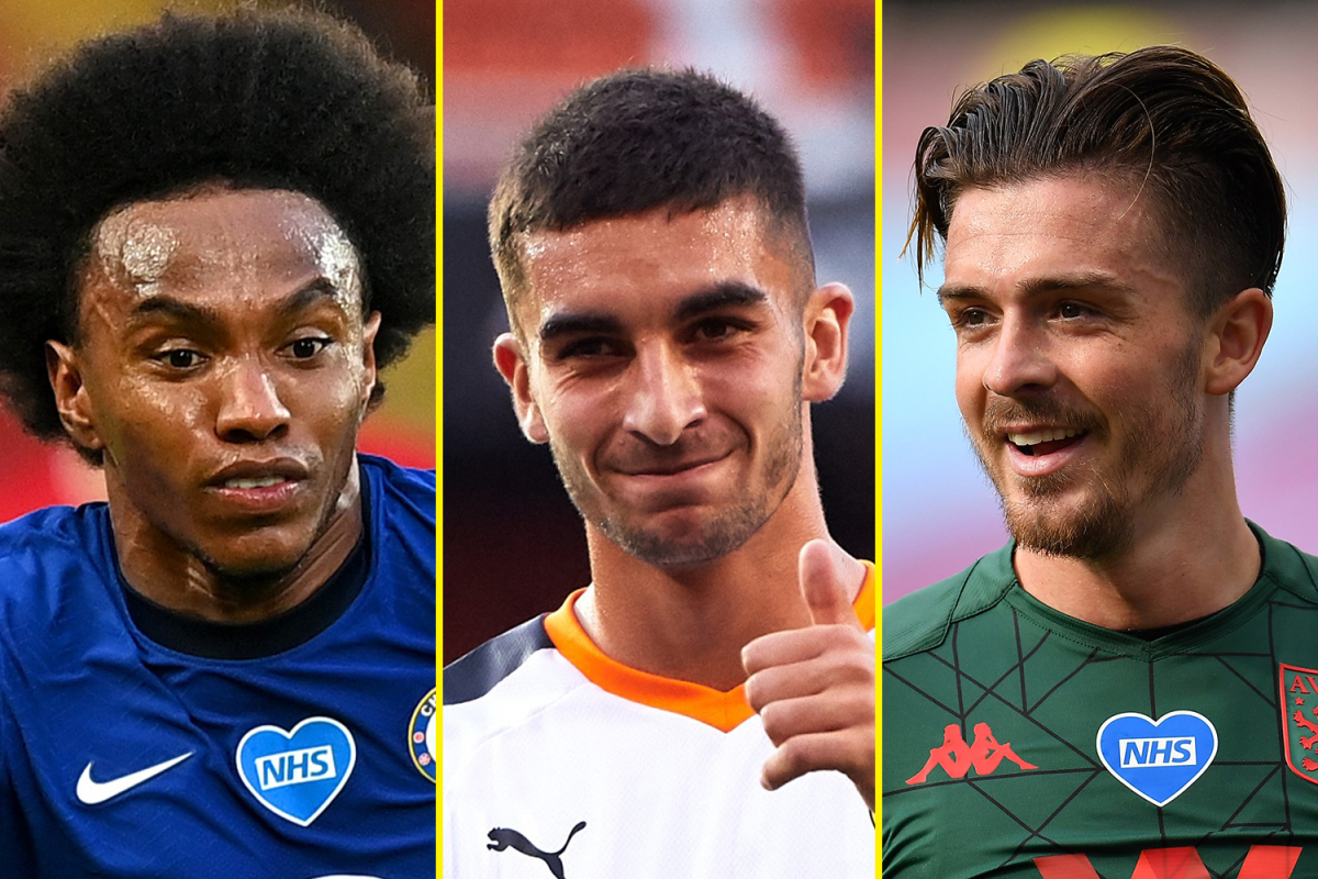 Transfer news LIVE: PL offers confirmed for Arsenal and Tottenham target Willian, Aston Villa want £80m-plus for Manchester United target Grealish, Man City chasing Torres