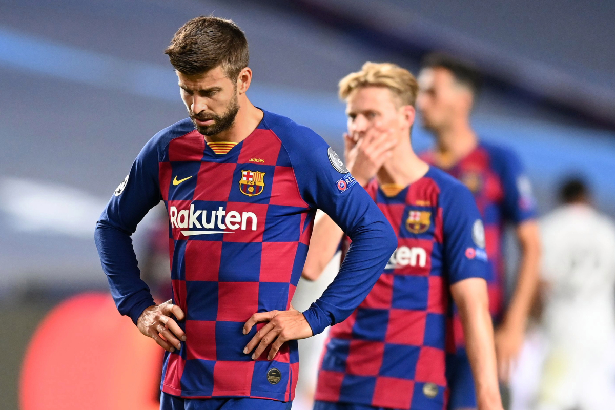 'We've hit all-time low' – Gerard Pique provides to QUIT Barcelona in emotional interview after embarrassing Bayern Munich drubbing
