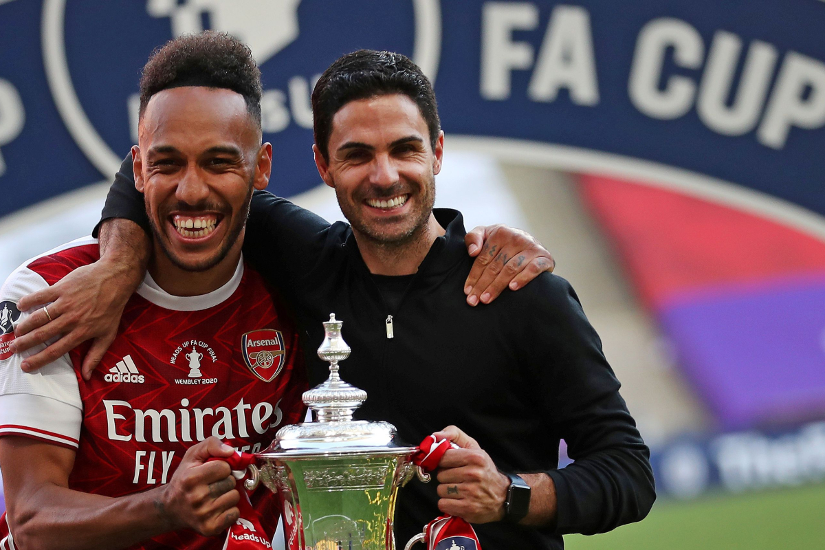 Arsenal switch information: Pierre-Emerick Aubameyang to be supplied new £250,000-a-week contract after FA Cup remaining heroics