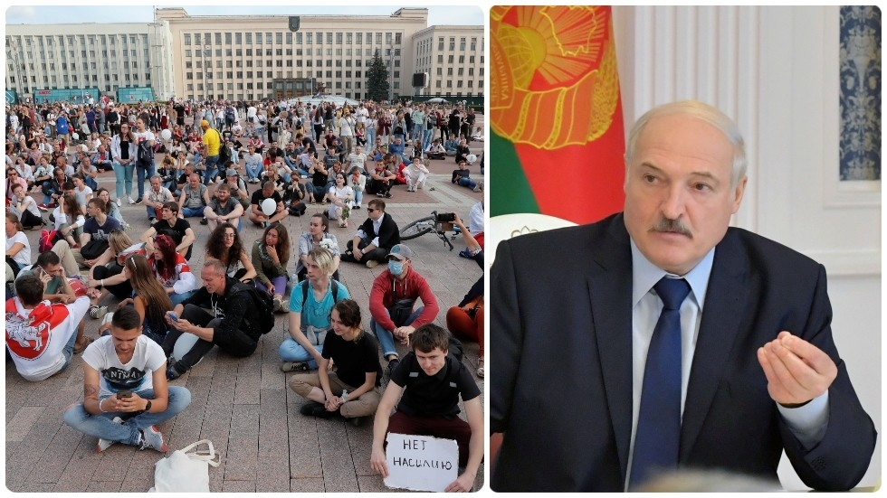 Belarus' Lukashenko says he's being focused by 'colour revolution', seeks to hitch forces with Putin