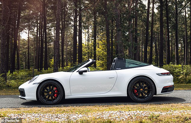 Porsche 911 Targa 4S first drive within the UK