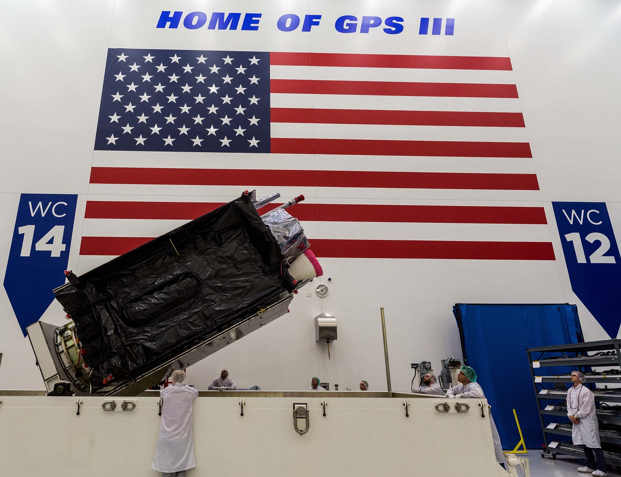 Third GPS III House Automobile receives operational acceptance