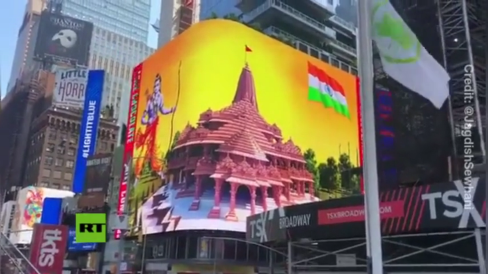 Twitter below hearth for 'censoring' Hindu temple video from New York after stress from Islamic teams