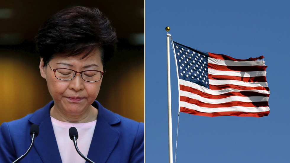 US imposes sanctions on Hong Kong's chief govt amongst different Chinese language officers