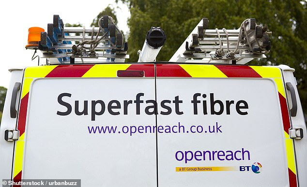 BT to overlook broadband goal firm tells ministers