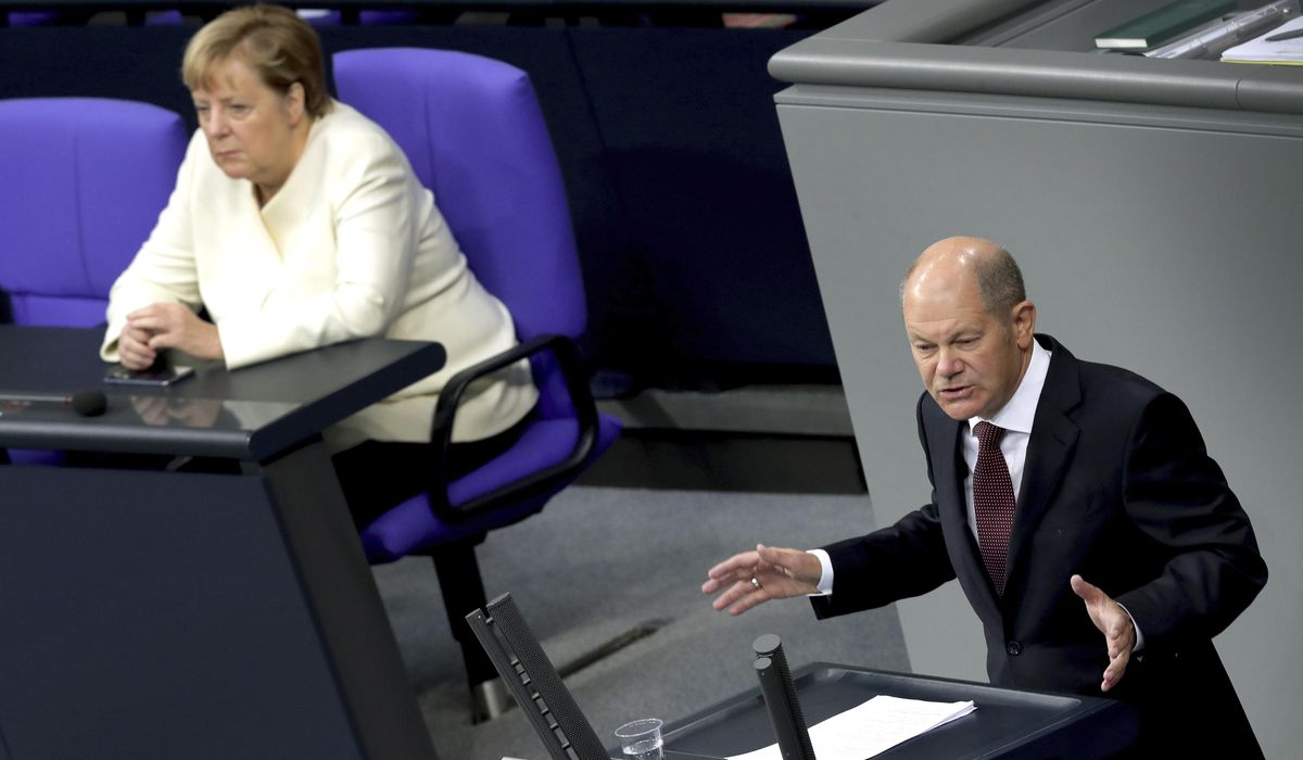 German minister says debt will not attain monetary disaster stage