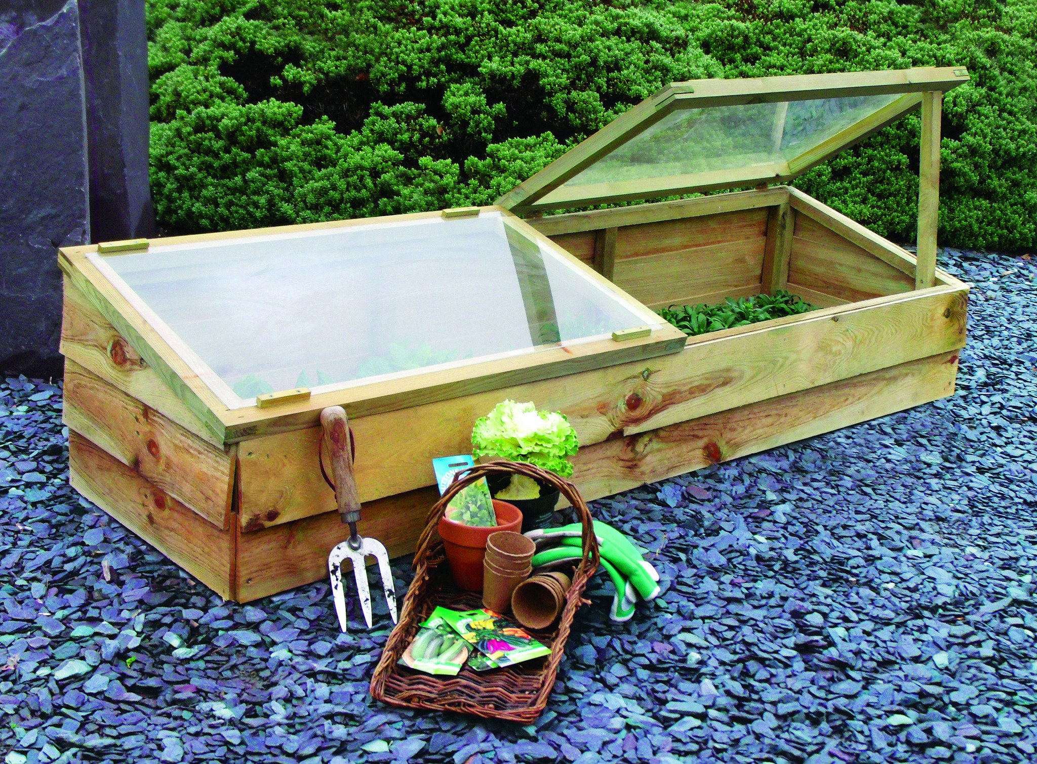 Let There Be Light: How To Build a Gardening Cold Frame