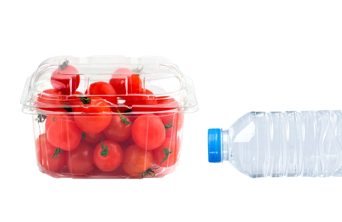 Recycling Plastic Clamshells and Bottles, the Same but Different