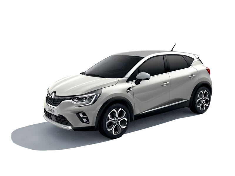 WIN! A Oyster Grey Renault Captur! with Arnold Clark!