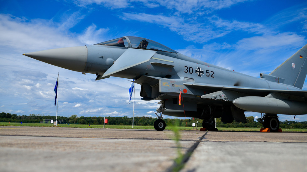 German Air Force training for NUCLEAR war as part of NATO's 'Steadfast Noon' exercises