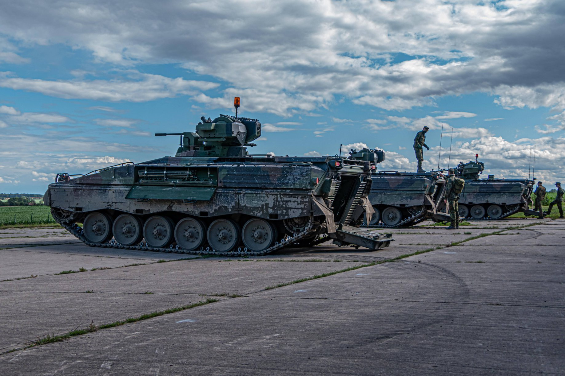 Germany to improve its Marder infantry combating automobiles
