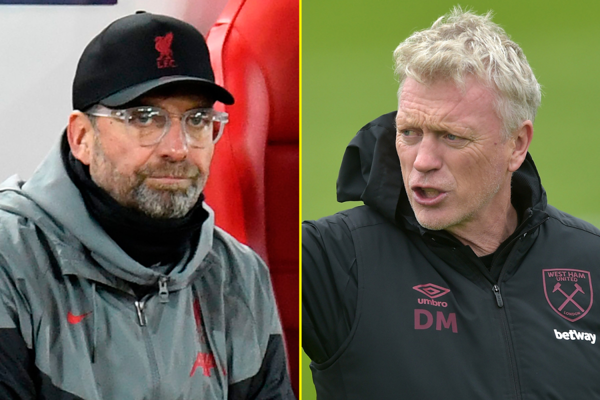 Liverpool vs West Ham LIVE commentary and team news: Jurgen Klopp's side can go top with win as David Moyes seeks to end winless record against champions