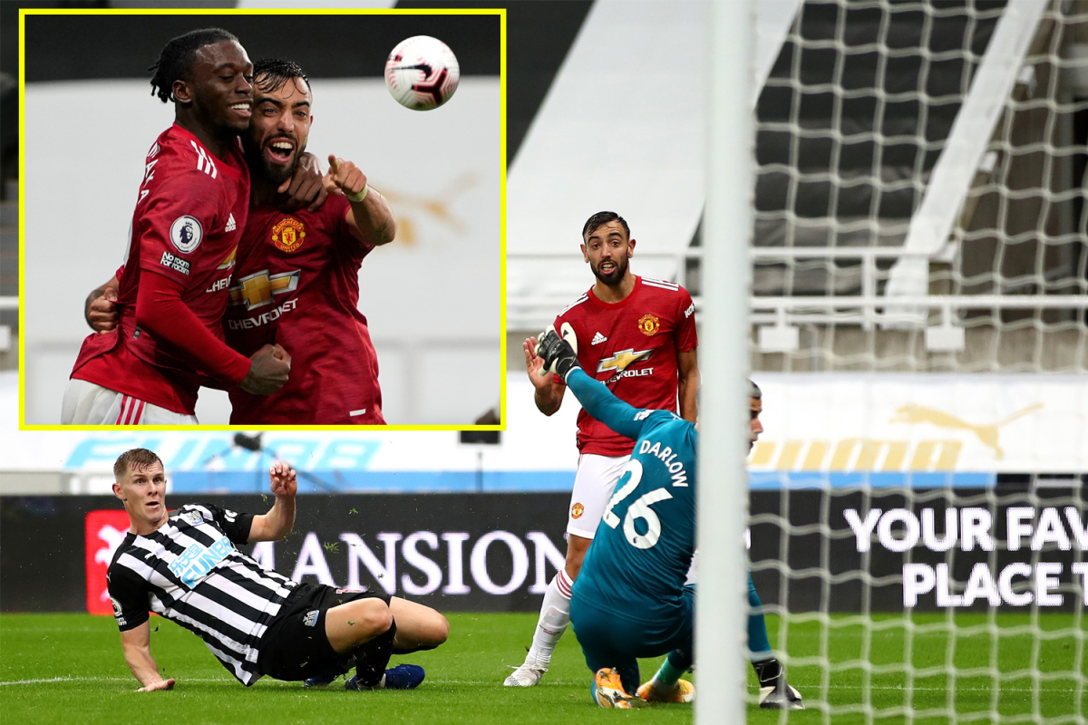 Manchester United bounce back as three brilliant late goals snatch victory at Newcastle after Bruno Fernandes had penalty saved earlier in the game
