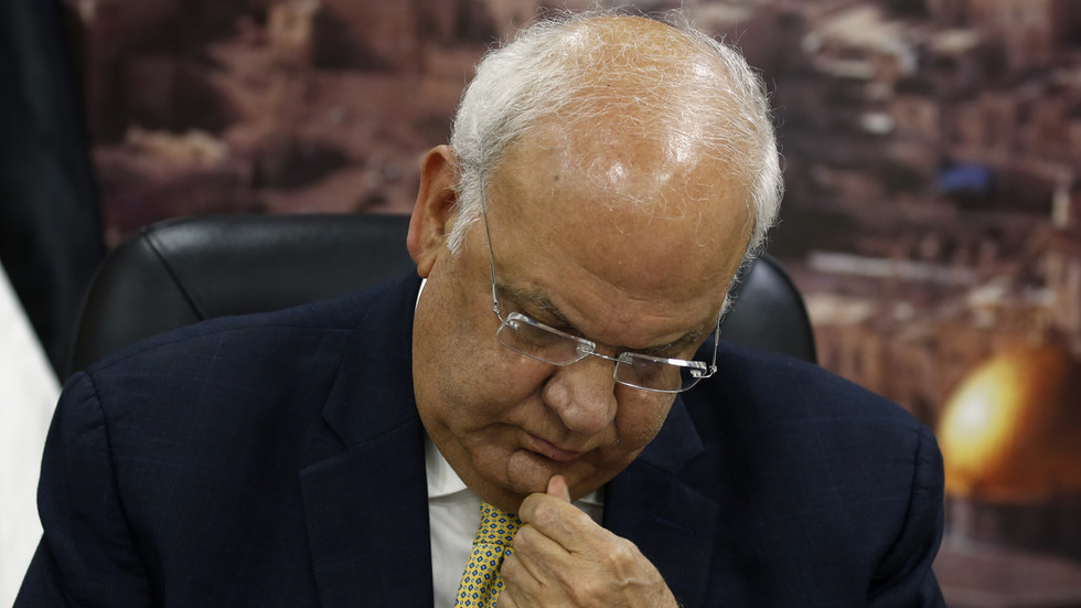 Top Palestinian official Saeb Erekat evacuated to Israel for urgent treatment over Covid-19 complications