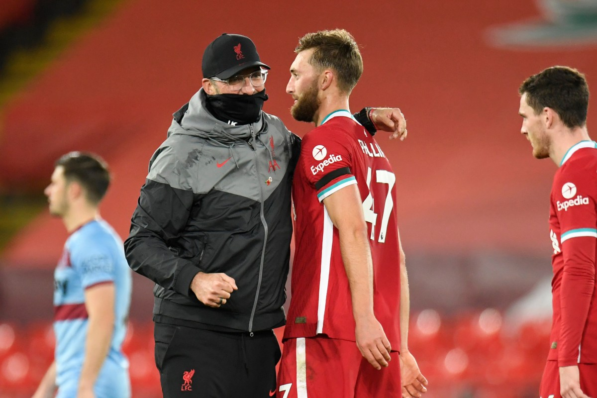 'He's not Messi, however who cares?' – Jurgen Klopp praises 'monster' Nathaniel Phillips after defender's man of the match show in Liverpool victory over West Ham