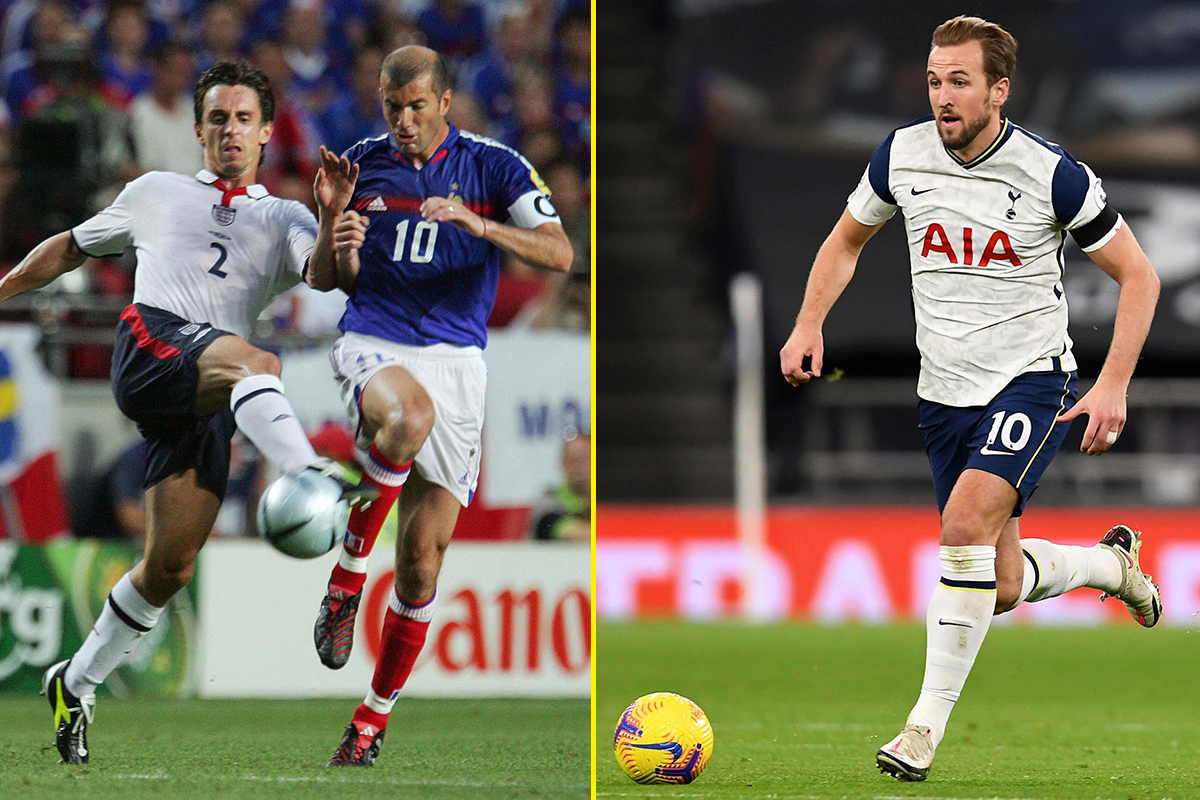 'I'll get mocked for this' – Gary Neville makes comparison between Harry Kane and Zinedine Zidane during Tottenham vs Manchester City
