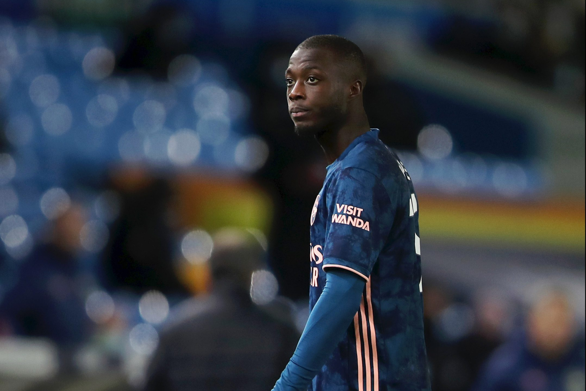 Arsenal will NOT mortgage out Nicolas Pepe in January, however Mikel Arteta plans talks with £72million flop after 'unacceptable' Leeds headbutt