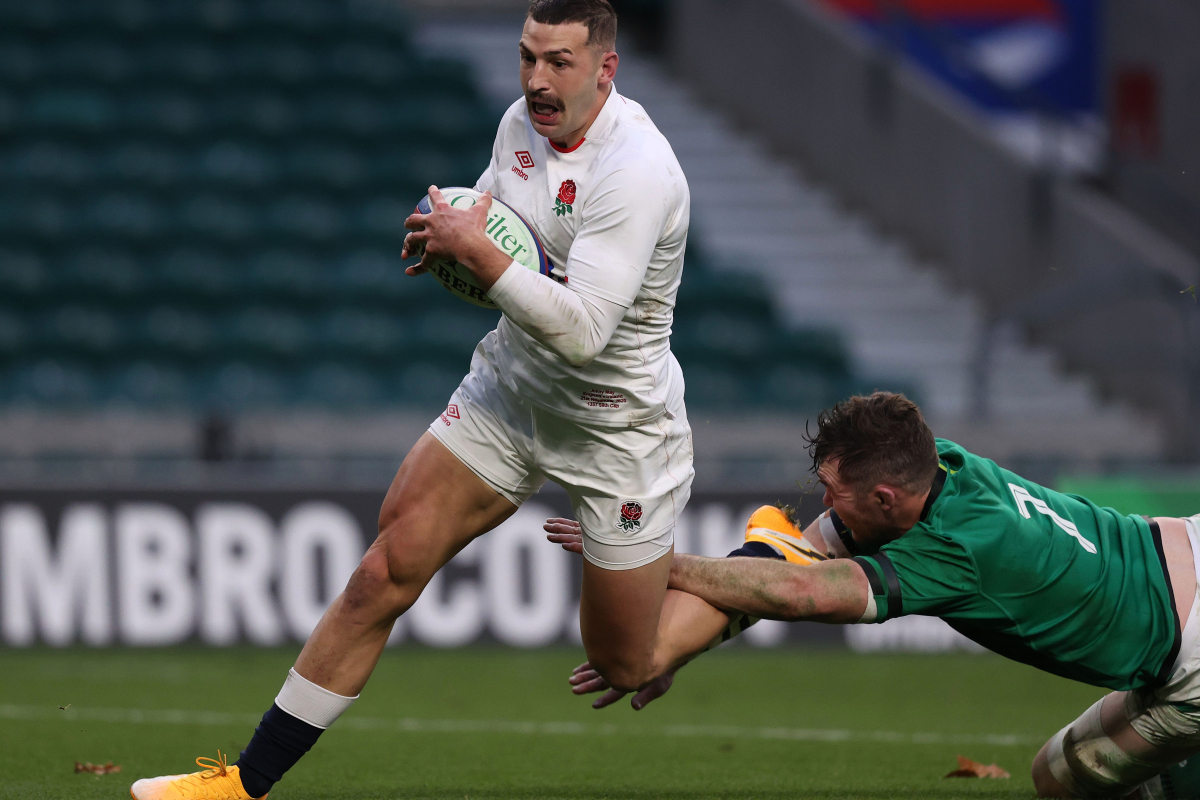 England hero Jonny May compared to Harry Kane after scoring 'one of the best tries ever' against Ireland thanks to 90-metre solo run