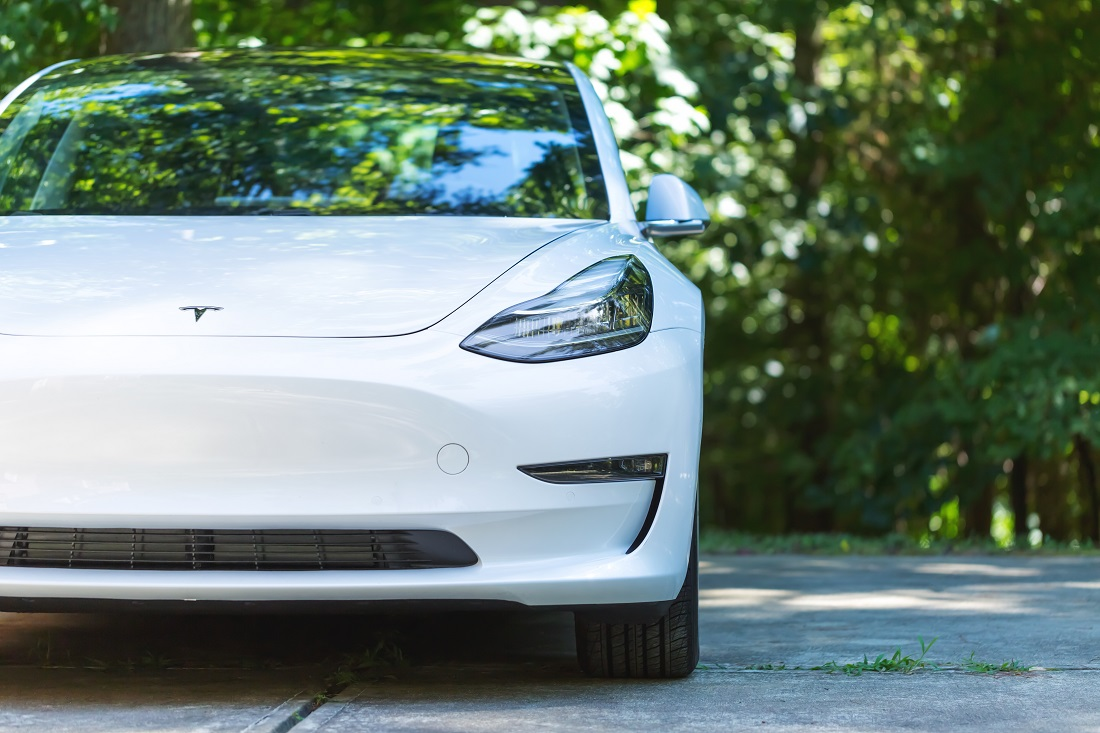 Enter to Win a 2021 Tesla Mannequin three by Donating to Charity