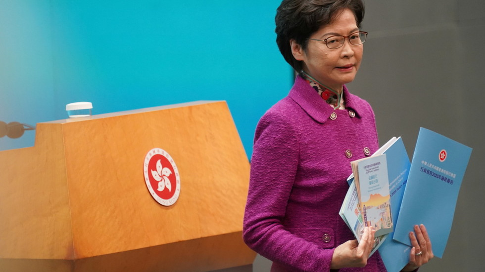 Hong Kong is 'gaping gap' in China's nationwide safety, metropolis's head says, aiming to revive political system 'from chaos'