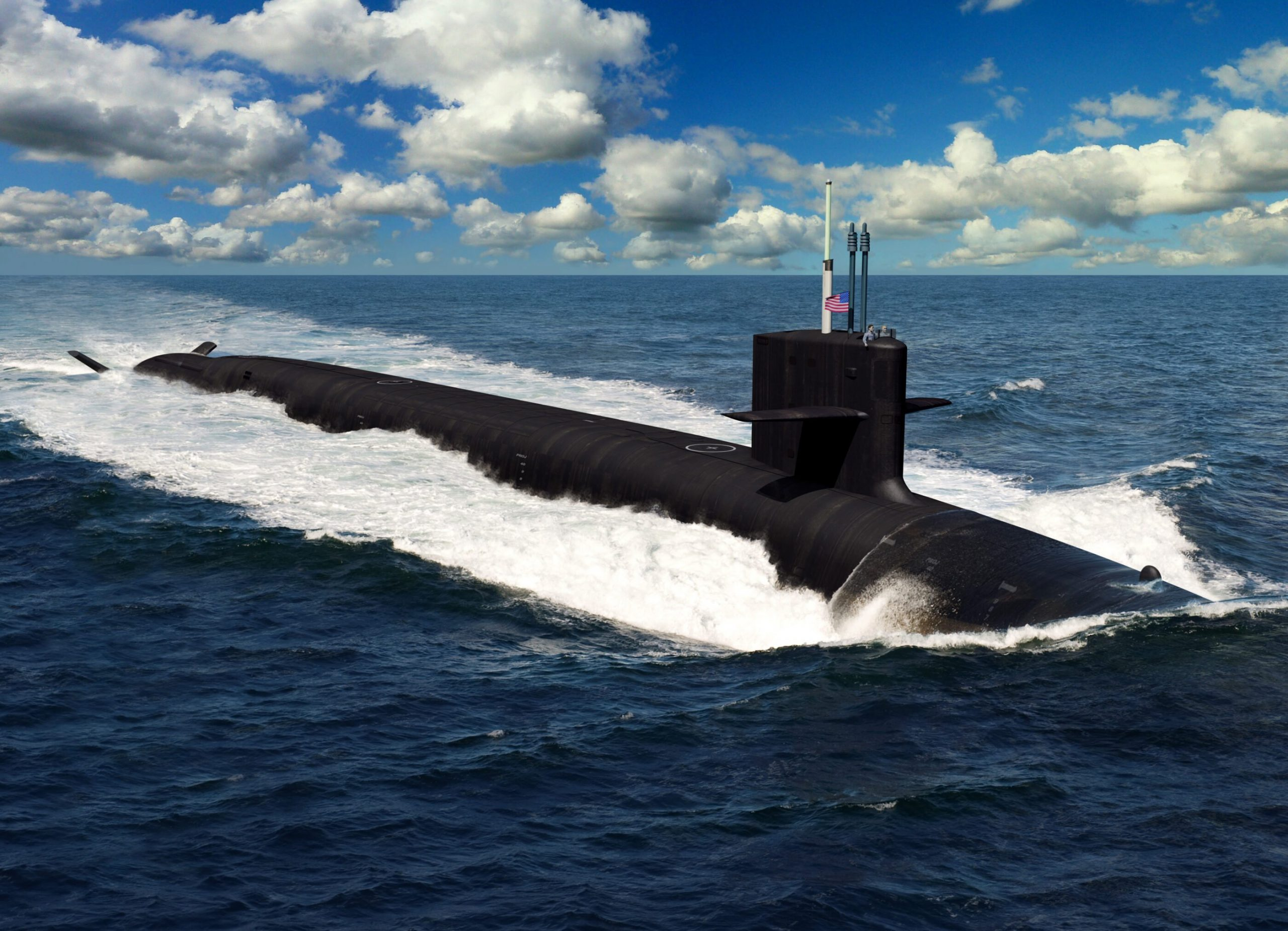 Huntington Ingalls contracted in assist of development on first two Columbia-class submarine