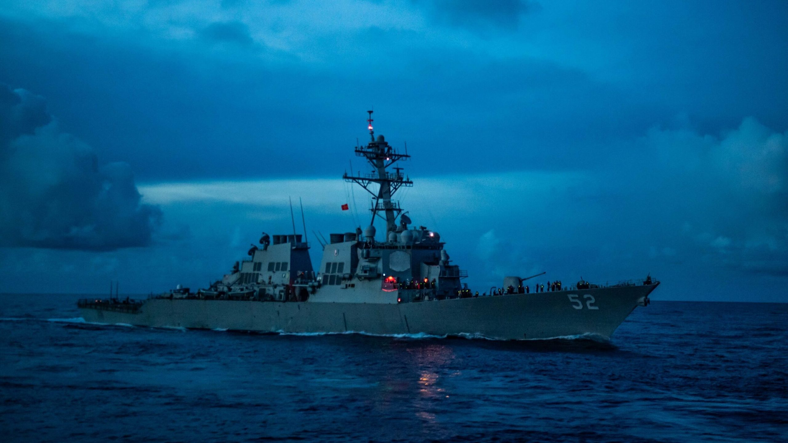 U.S. Navy sends USS Barry guided-missile destroyer to South China Sea