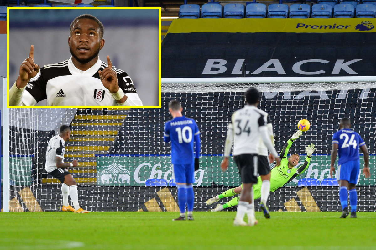 Ademola Lookman scores and pays tribute to Papa Bouba Diop as Fulham finish penalty hoodoo with win at Leicester