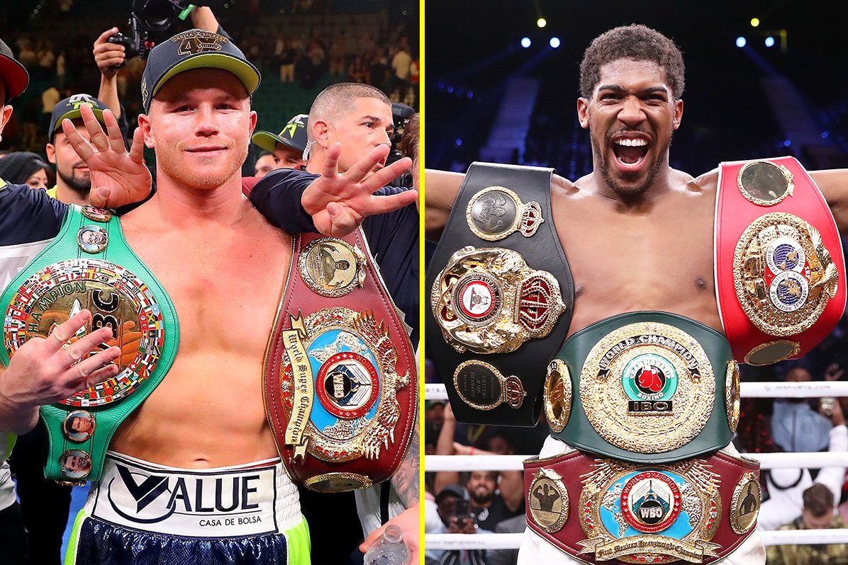 Boxing schedule 2021: All main upcoming fights, dates and outcomes from Canelo Alvarez, Anthony Joshua and Tyson Fury