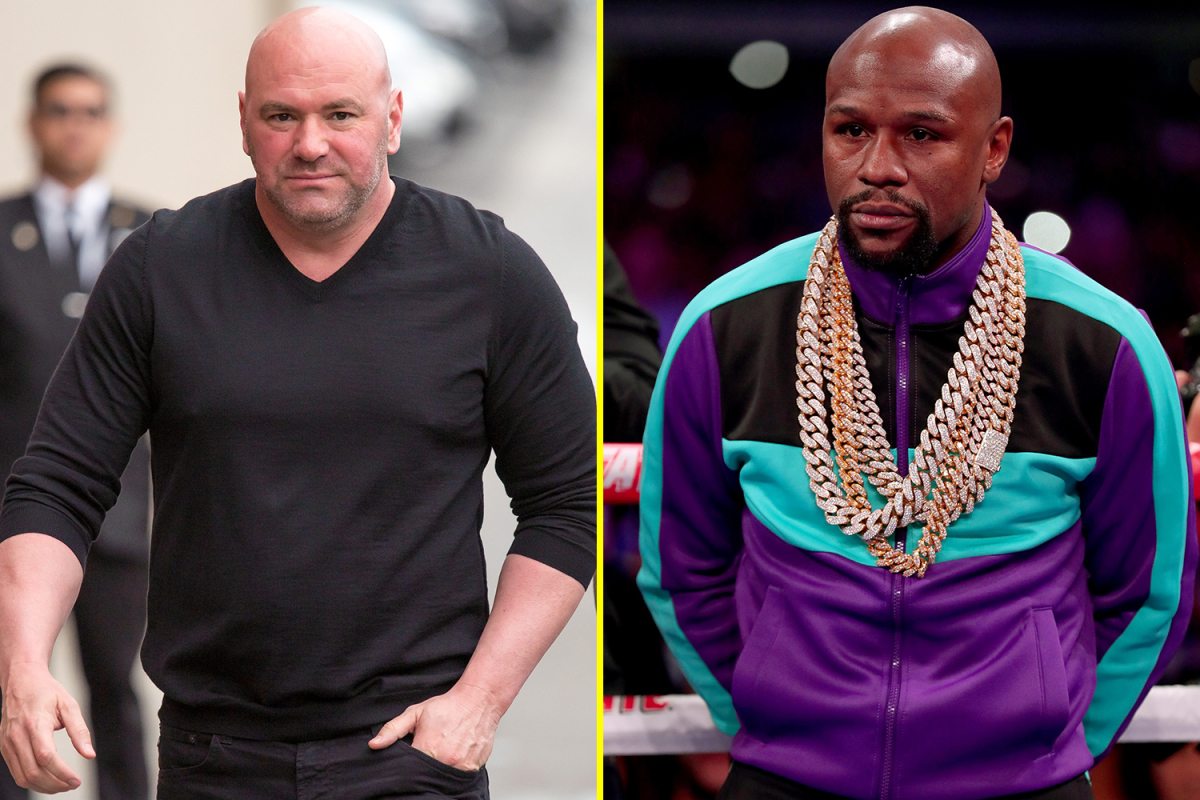 Dana White admits talks with Floyd Mayweather over lucrative exhibition bout against a UFC fighter collapsed due to COVID-19