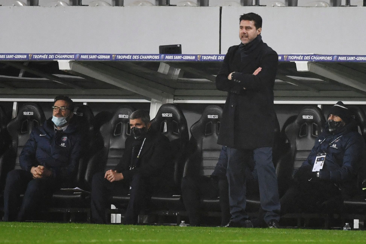 Former Tottenham boss Mauricio Pochettino wins first trophy of managerial career with French Super Cup win… just 11 days after taking charge of Paris Saint-Germain