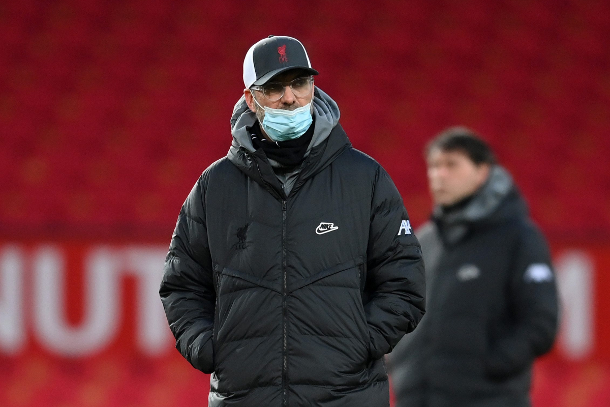 Jurgen Klopp performs down talks of disaster as Liverpool boss insists Reds will 'work on options' following Manchester United defeat