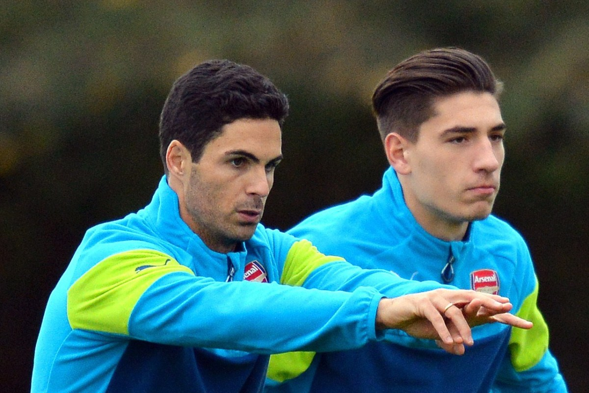 Mikel Arteta helped nurture Hector Bellerin from a boy to a man at Arsenal after being a 'bit naughty' in early years of Gunners career