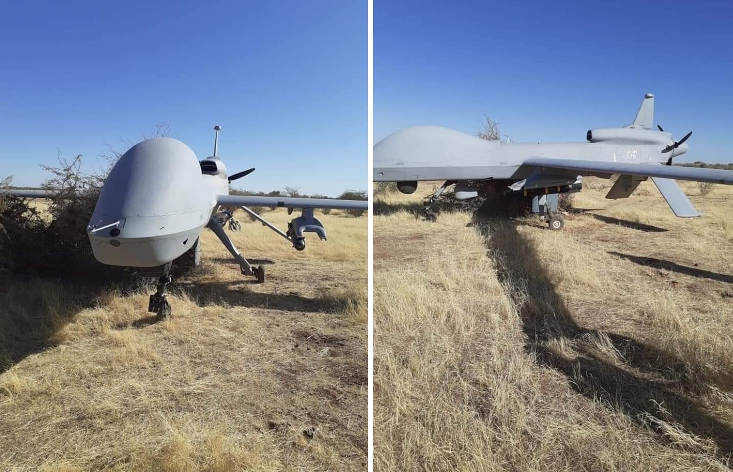 U.S. Military MQ-1C drone performed emergency touchdown in Niger