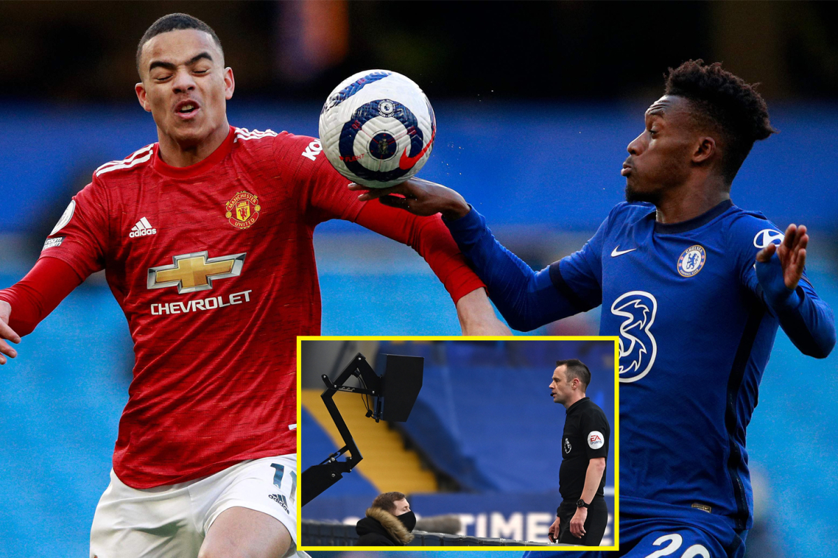 Callum Hudson-Odoi not penalised for handball regardless of VAR overview as Chelsea and Manchester United play out uneventful draw