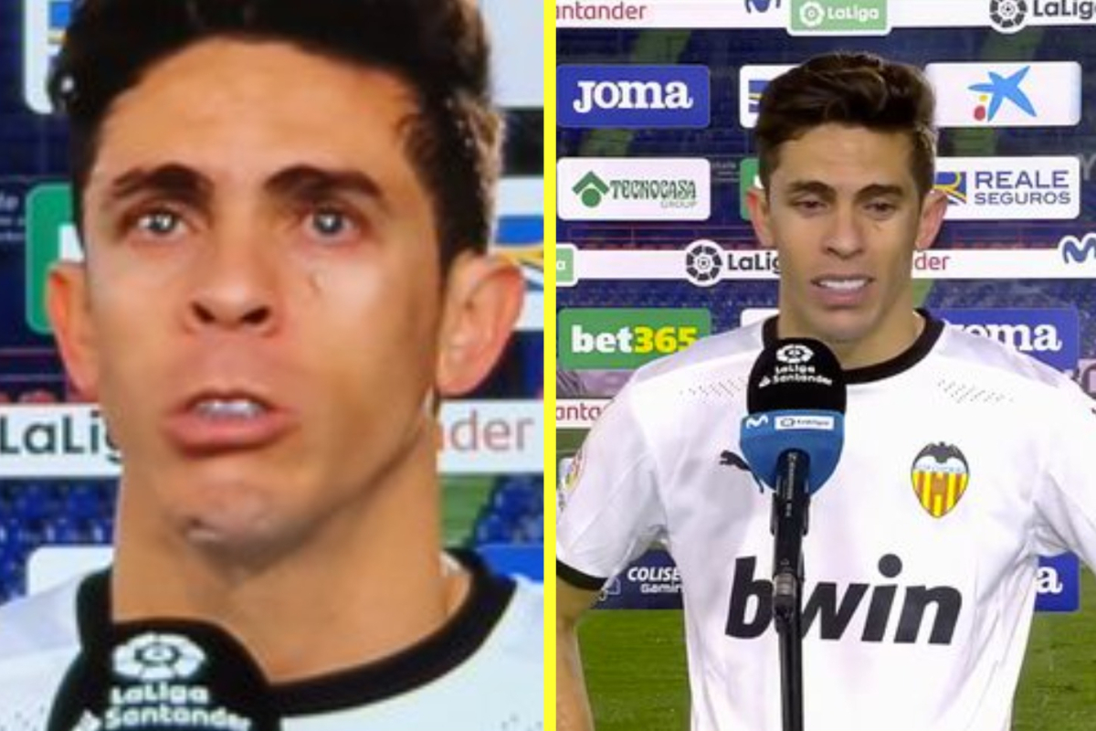 Former Arsenal star Gabriel Paulista breaks down in tears throughout emotional interview as Valencia slip in direction of LaLiga relegation locations