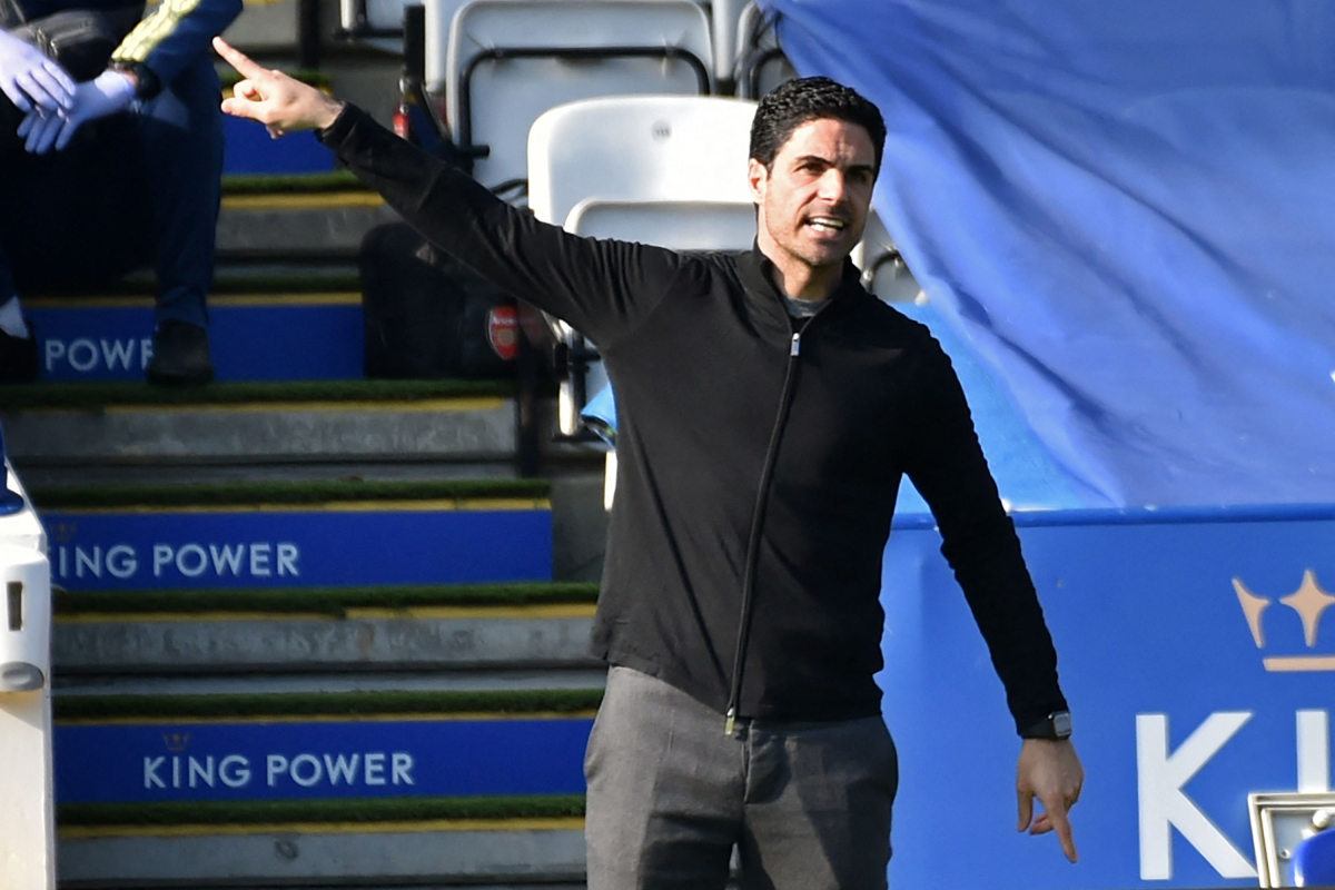 Mikel Arteta happy with Arsenal's response at Leicester however warns his gamers they're nonetheless in 'unacceptable' Premier League place