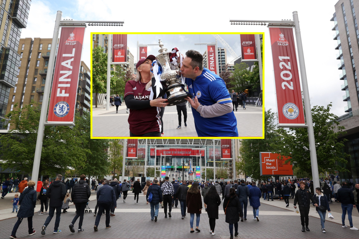 Soccer comes residence as 21,000 blissful followers return to Wembley Stadium to look at Chelsea vs Leicester Metropolis in FA Cup closing